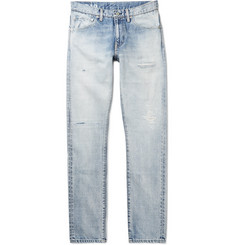 visvim Social Sculpture 12D19 Skinny-Fit Distressed Denim Jeans