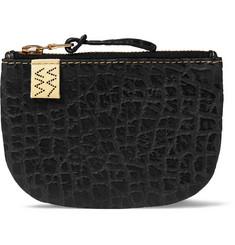 비즈빔 동전 지갑 Visvim Embossed Leather Coin Wallet,Black