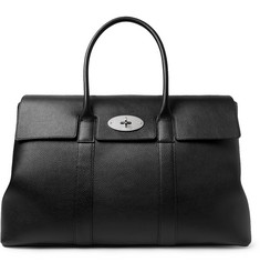 Piccadilly Full-grain Leather Tote Bag - Black