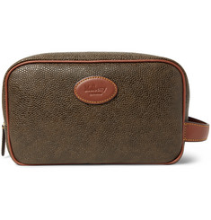 Mulberry - Pebble-Grain Leather Wash Bag