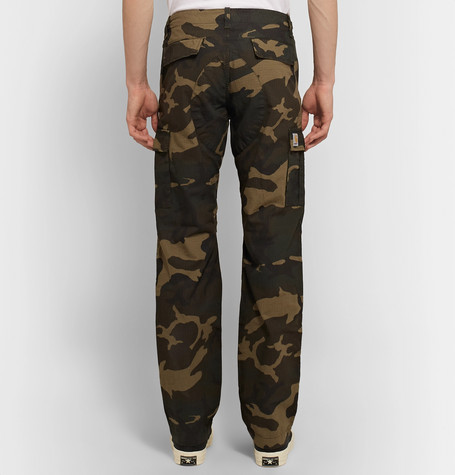 822dc245d0 Carhartt WIP - Aviation Slim-Fit Camouflage-Print Cotton-Ripstop ...