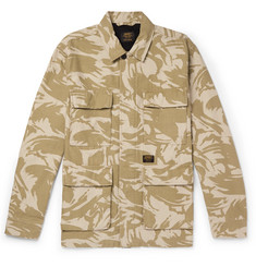 Carhartt WIP Balfour Camouflage-Print Cotton-Canvas Field Jacket