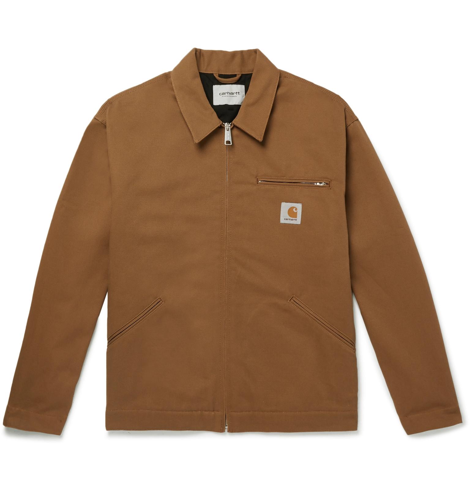 4886266ec9b67 Carhartt WIP - OG Detroit Cotton-Twill Field Jacket