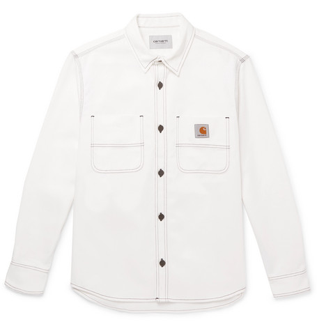 Cotton Twill Overshirt by Carhartt Wip