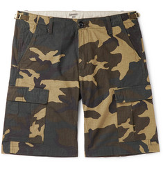 20c03e8f7e Carhartt WIP - Aviation Camouflage-Print Cotton-Ripstop Cargo Shorts
