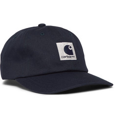 Carhartt WIP Lewiston Reflective Logo-Embroidered Cotton-Twill Baseball Cap