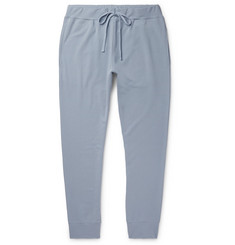 Handvaerk - Flex Tapered Loopback Stretch Pima Cotton-Jersey Sweatpants