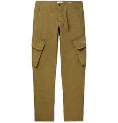 President's Pleated Cotton Cargo Trousers