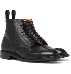 Cheaney - Richmond Pebble-Grain Leather Boots