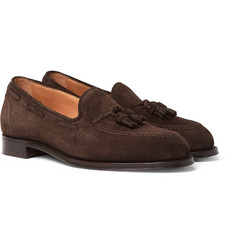 Cheaney - Harry Suede Tasselled Loafers