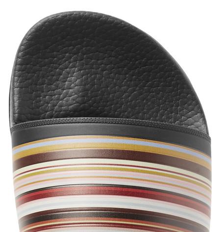 Paul Smith Slippers Ruben Striped Rubber Slides