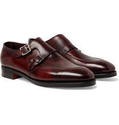 John Lobb - Sennen Leather Monk Strap Shoes