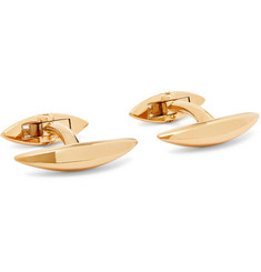 Shaun Leane Arc Gold-Plated Silver Cufflinks