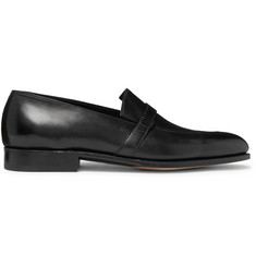 John Lobb Felton Leather Loafers