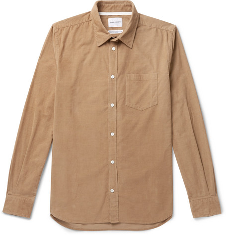 Osvald Cotton Corduroy Shirt by Norse Projects