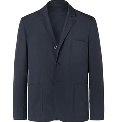 Norse Projects Navy Slim-Fit Piqué Blazer