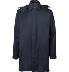Norse Projects Trondheim Storm System Wool Hooded Raincoat