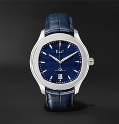 Piaget Polo S 42mm Stainless Steel and Alligator Watch