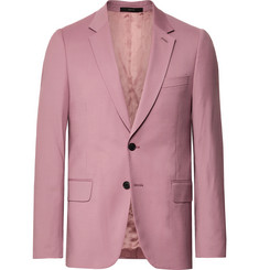 Paul Smith - Dusty-Pink A Suit To Travel In Soho Slim-Fit Wool Suit Jacket