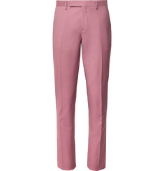 Paul Smith - Dusty-Pink A Suit To Travel In Slim-Fit Wool Suit Trousers