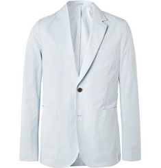 Paul Smith Sky-Blue Soho Slim-Fit Unstructured Cotton Blazer