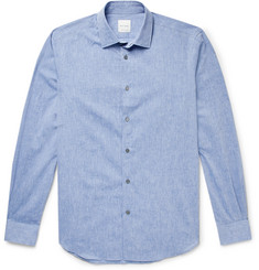 Paul Smith Soho Mélange Cotton and Linen-Blend Shirt