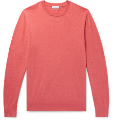 Richard James Mélange Cotton Sweater