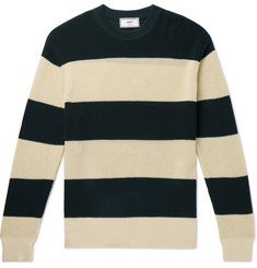 AMI - Striped Cotton Sweater