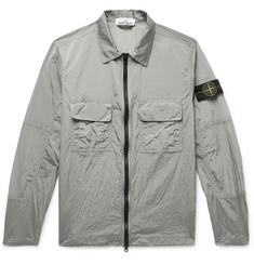 7bba140902e0 Stone Island - Logo-Appliquéd Ripstop-Shell Jacket