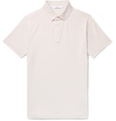 Stone Island Logo-Embroidered Cotton-Piqué Polo Shirt