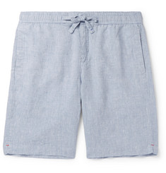 Orlebar Brown Slim-Fit Linen-Chambray Drawstring Shorts