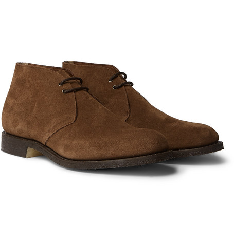 9d3671b2 Church's Sahara Suede Desert Boots In Brown | ModeSens
