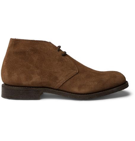 Church's – Sahara Suede Desert Boots – Brown