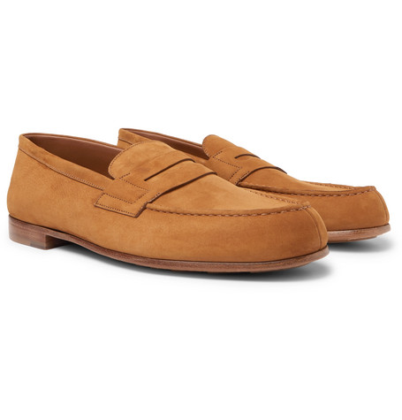 281 Le Moc Suede Loafers - Light brown