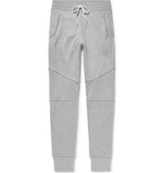 John Elliott - Escobar Slim-Fit Tapered Loopback Cotton-Blend Jersey Sweatpants