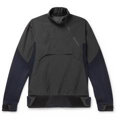 Sease High Pressure Panelled Virgin Wool-Blend and Stretch-Nylon Jacket