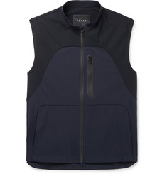 Sease - Low Pressure Panelled Virgin Wool-Blend and Stretch-Nylon Gilet