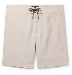 Sease Sunset Linen Drawstring Shorts