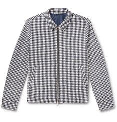 Mr P. - Checked Cotton-Blend Bouclé Jacket
