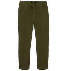 MAN 1924 Tomi Slim-Fit Tapered Linen Drawstring Trousers