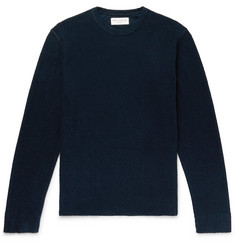 Officine Generale Cotton-Terry Sweatshirt