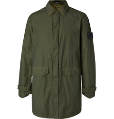 Stone Island Shadow Project Garment-Dyed Water-Repellent Nylon Jacket