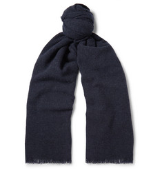 Begg & Co Beaufort Wool and Cashmere-Blend Scarf