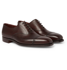 508643c12 George Cleverley - Charles Cap-Toe Full-Grain Leather Oxford Shoes