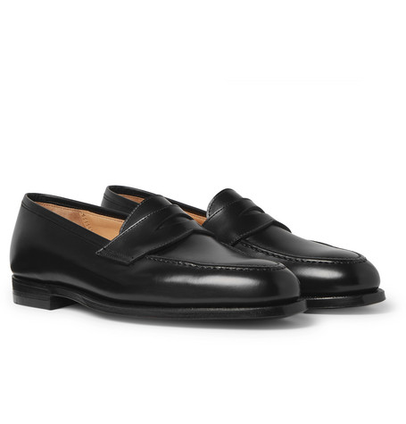 Bradley 2 Leather Penny Loafers - Black