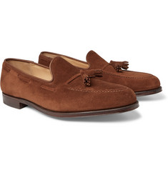 George Cleverley - Gabriel Suede Tasselled Loafers