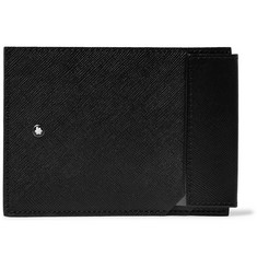 몽블랑 사토리얼 카드지갑 Montblanc Sartorial Cross-Grain Leather Cardholder,Black