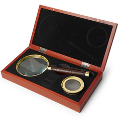 Celestron - Ambassador Brass and Beech Wood Magnifier Set