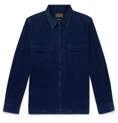 Beams Plus Cotton-Corduroy Shirt Jacket