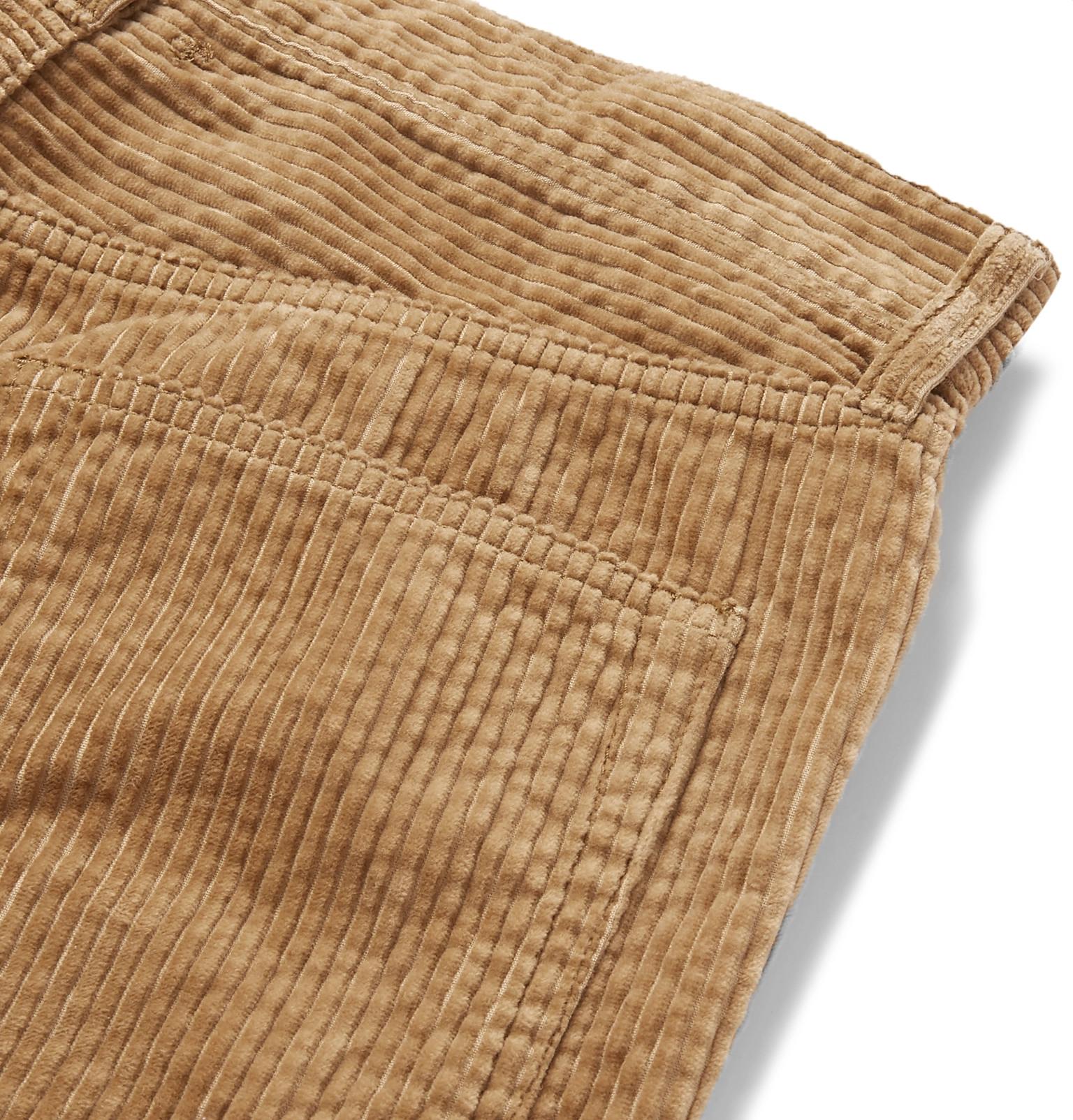 ba639bd361b Beams Plus - Slim-Fit Cotton-Corduroy Trousers